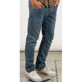 Pantalon Jean Volcom Vorta Denim Seventies Indigo