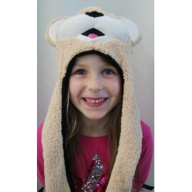 Bonnet Kids HERMAN Monster Ours Brun