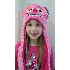 Bonnet Kids HERMAN Monster Rose