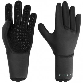 Vissla Seven Seas Gloves 3mm Black