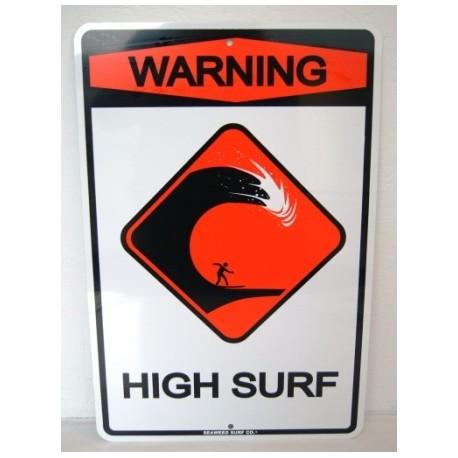 plate ALU Deco Surfpistols Forever Summer