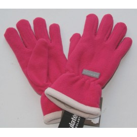Gloves Herman Women Fleece Lined Thinsulate Pink