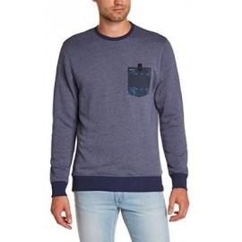 Sweatshirt Hurley Amal Crew Bleu