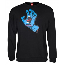 Sweat Santa Cruz Screaming Hand Noir