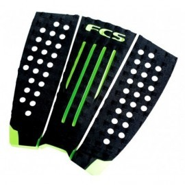 Pads FCS Julian Wilson Black Hot Lime