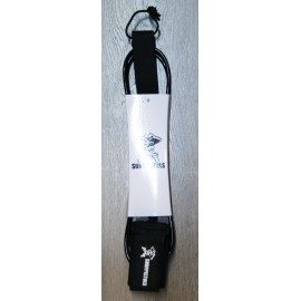 Leash Surf Pistols 6' Noir