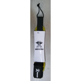 Leash Surf Pistols 7' Jaune