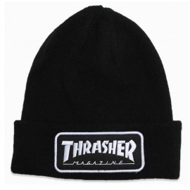 Bonnet Thrasher Logo Patch Black