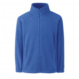 Polar Zipped Junior Fleece Royal