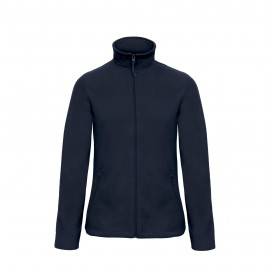 Polar Zipped Woman Fleece Navy
