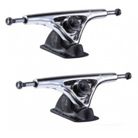 Paire de Trucks Bear Grizzly 181mm Chrome
