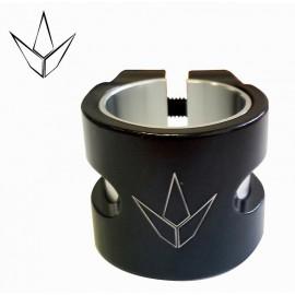 Collier de Serrage 2 Vis Twin Slit Noir