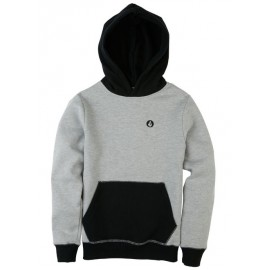 Sweat Volcom Junior Single Stone Division Grey