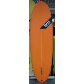 Surf Black Wings 6'0 Egg Biscuit Orange