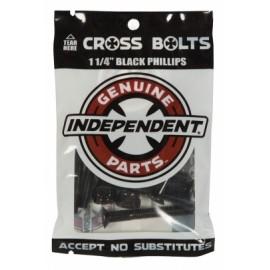 """Set of Independent Screw 1.25"""" Allen Black"""