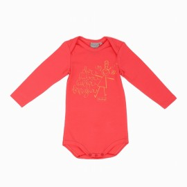 Girl's Body A L' Aise Breizh Beguic Pink Long Sleeve