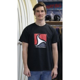 Men's Tee Shirt BREIZH RIDER Trez Black and Red