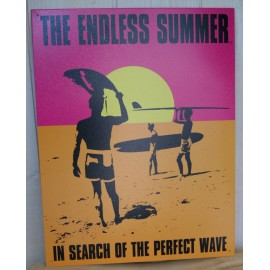 Plaque Metal Endless Summer