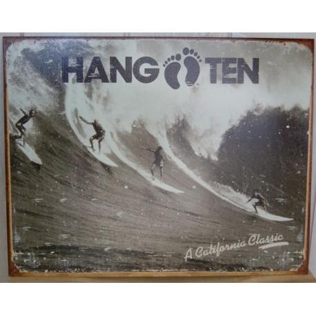 Hang Ten Metal Plate