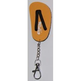 Key Rings Cool Shoe Orange