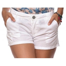 Short Femme BANANA MOON Collina Clearwater Blanc