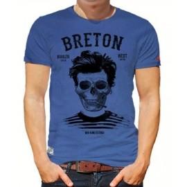 Men's T-ShirtStered Breton Bev Atav Blue Storm
