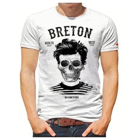 Men's T-ShirtStered Breton Bev Atav White