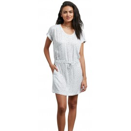 VOLCOM Mix A Star Dress White Dress