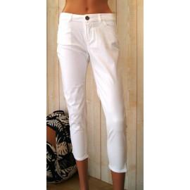 BANANA MOON Felipe Smyrna Women's Cropped Pants White