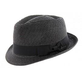 Chapeau Femme HERMAN Don Chick Noir Paillettes