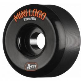 Roue Mini Logo Hybrid A Cut 53mm 90A Black