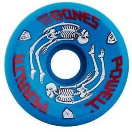 Powell Peralta G-Bones Skate Wheels Blue 64mm 97A