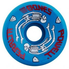 Powell Peralta G-Bones Skate Wheels Blue 64mm