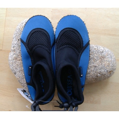 Neoprene slippers COOL SHOE Skin2 Black2