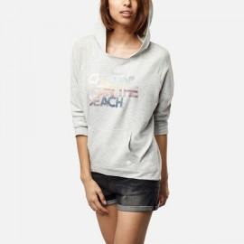 Leisure Time Oth White Melee Women's Sweatshirt