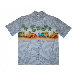 Aloha Republic shirt woody Gray