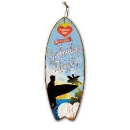 Tableau WOOD Surf Rider