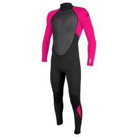 O'Neill Girl Wetsuit Reactor II 3/2mm Black Berry