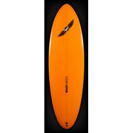 Location Surf Black Wings Retro Single 6'0