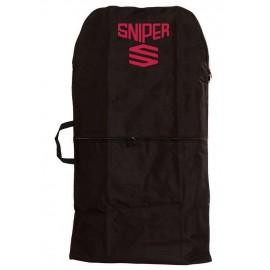 Bodyboard Single Cover Sniper Black Red