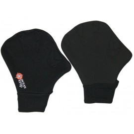 Water Walking Ocean Step Gloves 2mm Black Fluro Red
