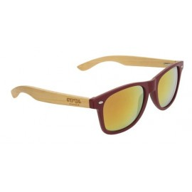 Lunette de Soleil Adulte Cool Shoe Woody Mat Red
