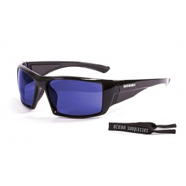 Ocean Aruba Floating Sunglasses Shinny Black Blue