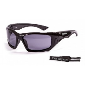 Ocean Floating Sunglasses Antigua Shinny Black Smoke