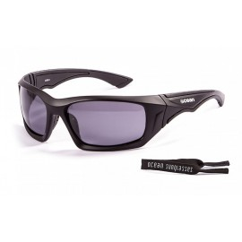Ocean Floating Sunglasses Antigua Mat Black Smoke
