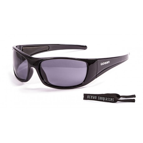 Floating Ocean Sunglasses Bermuda Smoke Shinny Black