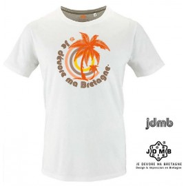 Organic JDMB White Palm Men's Tee Shirt