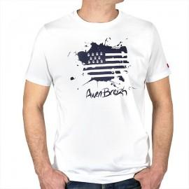 Tee Shirt Stered Awen Breizh Stain Blanc