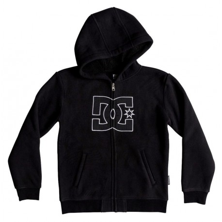 Sweat Doublé Sherpa DC New Star Black