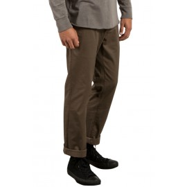 Pantalon Volcom Frickin Modern Strech Mushroom